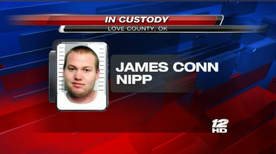 James Nipp Arrest Image
