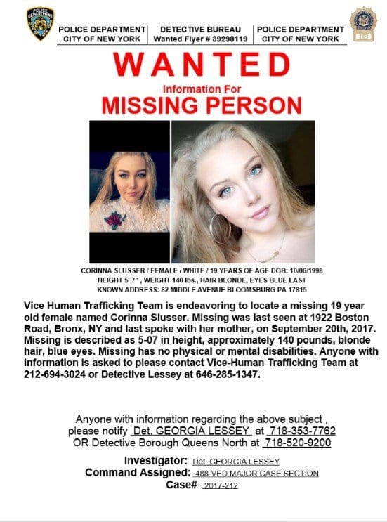 Missing Person Data in the United States
