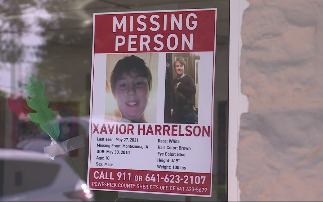 Search continues for Xavior Harrelson